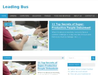 leadingbus.com screenshot