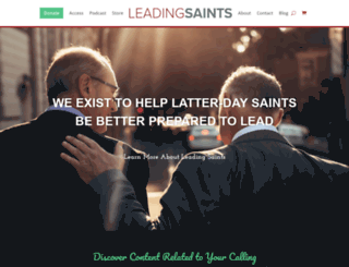 leadinglds.com screenshot