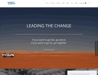 leadingthechange.com screenshot