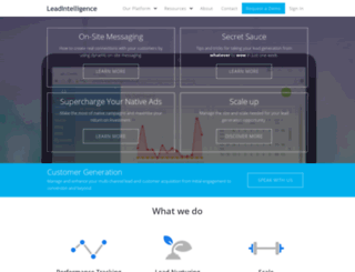 leadintelligence.co.uk screenshot