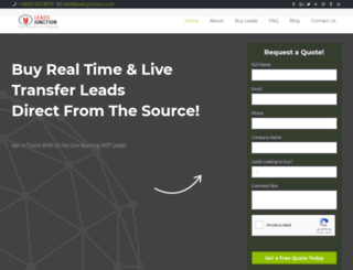leads-junction.com screenshot