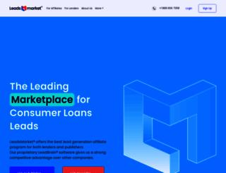 leadsmarket.com screenshot