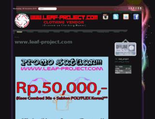 leaf-project.com screenshot