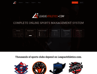 leagueathletics.com screenshot
