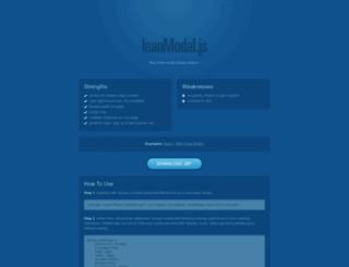leanmodal.finelysliced.com.au screenshot
