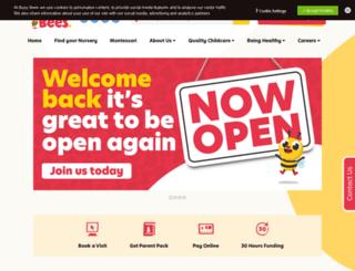 leapfrogdaynurseries.co.uk screenshot