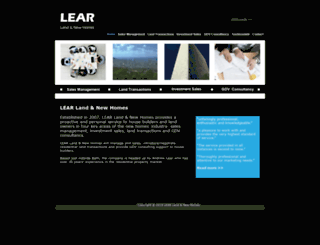 learlandandnewhomes.com screenshot