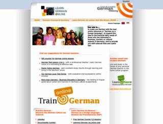 learn-german-online.net screenshot