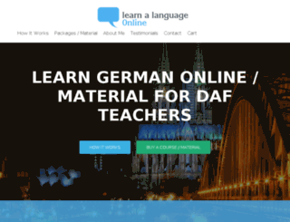 learn-language-online.net screenshot