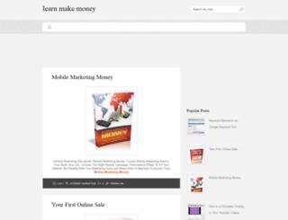 learn-make-money.blogspot.com screenshot