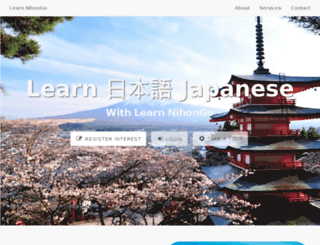 learn-nihongo.com screenshot