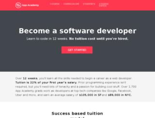 learn.appacademy.io screenshot