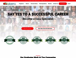 learn.colaberry.com screenshot