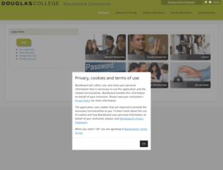 learn.douglas.bc.ca screenshot