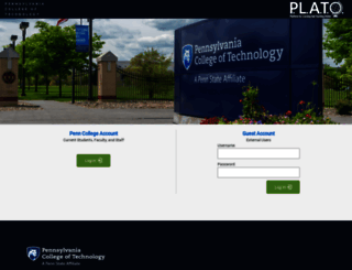 learn.pct.edu screenshot