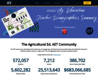 learn.theaet.com screenshot