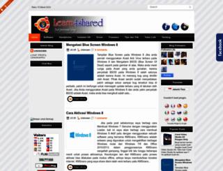 learn4shared.blogspot.com screenshot