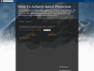 learnaboutastralprojection.blogspot.com screenshot