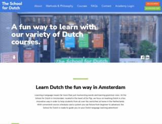 learndutch.com screenshot