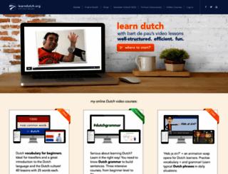 learndutch.org screenshot