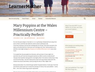 learnermother.co.uk screenshot