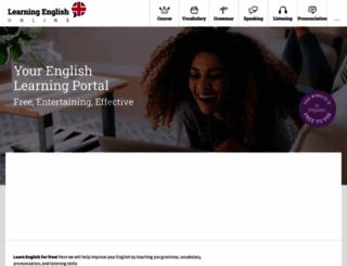 learning-english-online.net screenshot