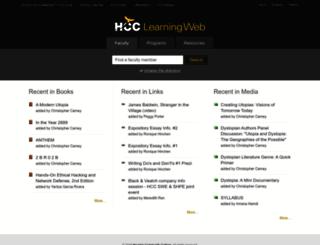 Access learning.hccs.edu. HCC Learning Web