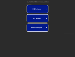 learning.sunderlandschools.org screenshot