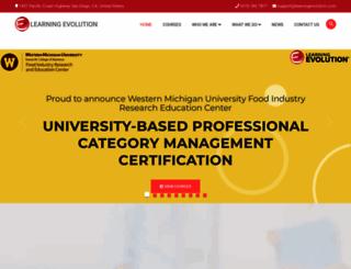 learningevolution.com screenshot