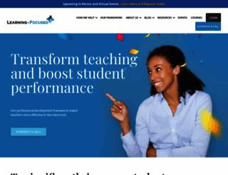 learningfocused.com screenshot