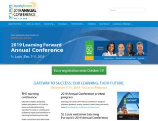 learningforwardconference.org screenshot