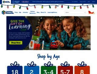 learningresources.com screenshot