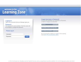 learningzone.kfc.yum.com screenshot