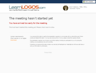learnlogos.enterthemeeting.com screenshot