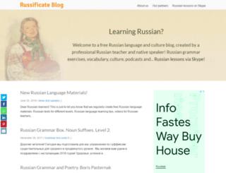learnrussianweb.net screenshot