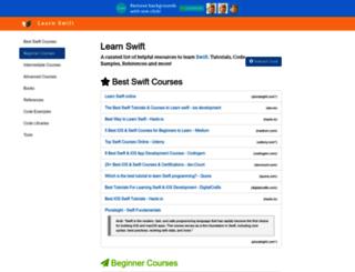 learnswift.tips screenshot