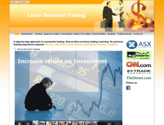 learntechnicaltrading.com screenshot