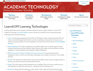 learnuw.wisc.edu screenshot