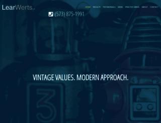 learwerts.com screenshot