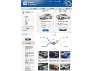 leaseexperts.ca screenshot