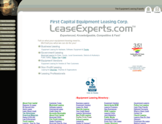 leaseexperts.com screenshot