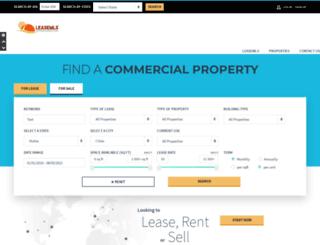 leasemls.com screenshot