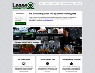 leaseq.com screenshot