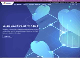 leaseweb.us screenshot
