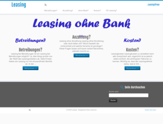 leasingfirma.ch screenshot