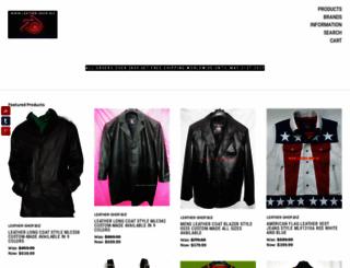 leather-shop.biz screenshot