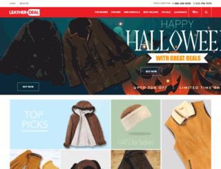 leatherdeal.com screenshot