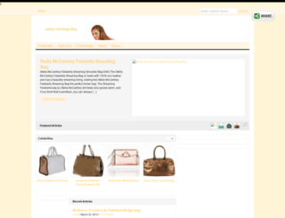 leatherhandbagsblog.com screenshot