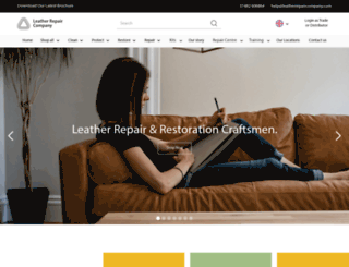 leatherrepaircompany.com screenshot