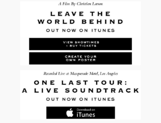 leavetheworldbehind.com screenshot